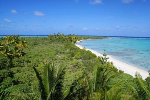 منظر من الأعلى للجزيرة