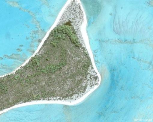 صورة قمر صناعي للجزيرة